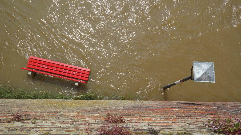 Hochwasser. Foto: Hans / pixabay