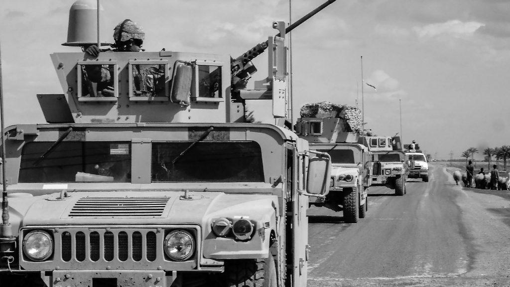 Militärfahrzeug. Foto: mikecook1 / pixabay