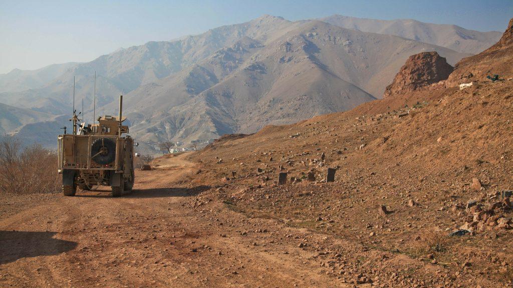 Humvee in Afghanistan. Foto: Amber Clay / Pixabay