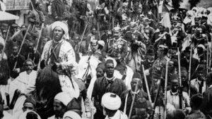 Kaiser Wilhelm II von Deutschland in Tangeri (1905.03.31)