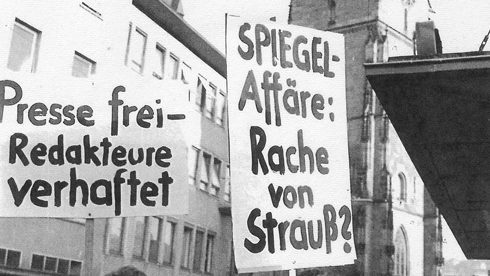 Demo in Stuttgart. Foto: Hans Vetter