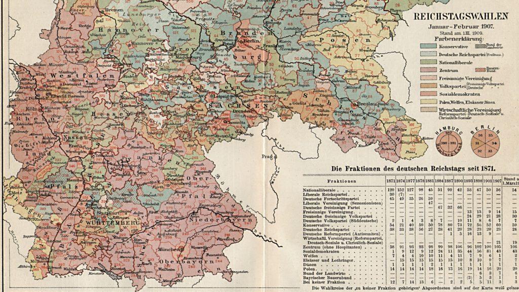 Reichstagswahlen 1905 (Ausschnitt)