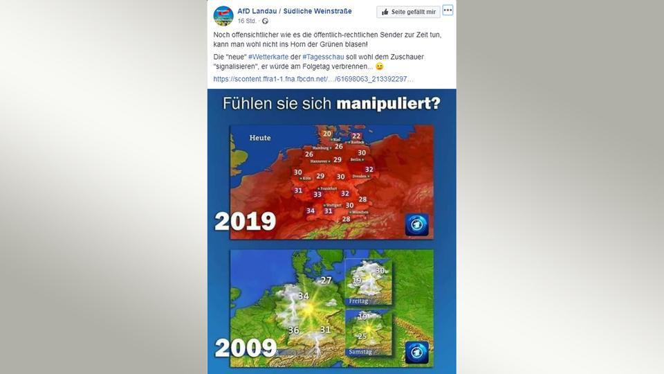 Screenshot von AfD-Tweet