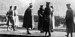 Flucht von Kaiser Wilhelm II. Foto: Bundesarchiv, Bild 183-R12318 / CC-BY-SA 3.0