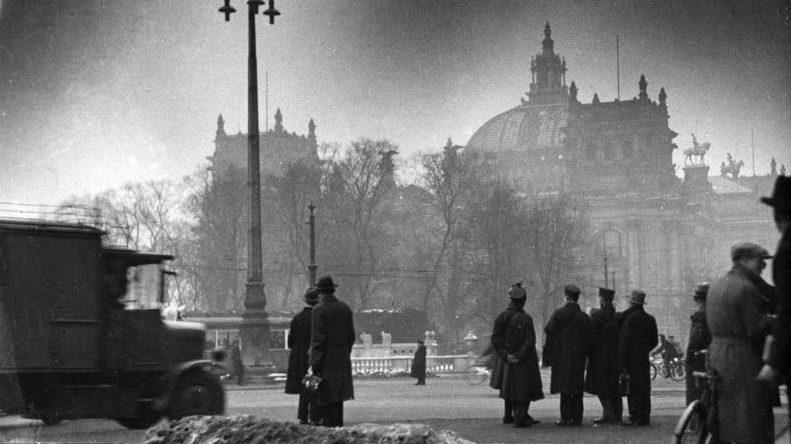 Berlin, Reichstagsbrand