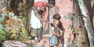 Hänsel and Gretel. Darstellung von Alexander Zick