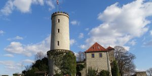 Die Sparrenburg im Bielefelder Stadtbezirk Mitte. Foto: neufal54 / Pixabay